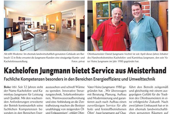 Bericht im Delbrücker Stadtanzeiger