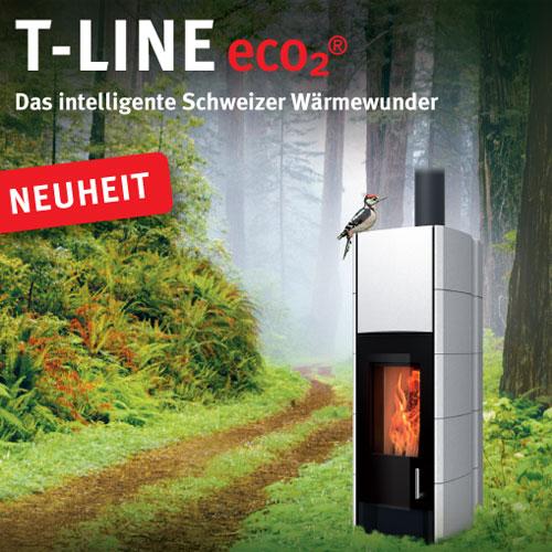Flyer vom Tonwerk Ofen T-Line e.c.o2(R)
