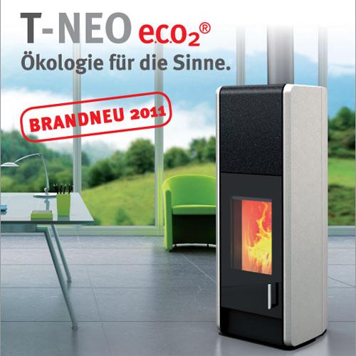 Flyer vom Tonwerk Ofen T-Neo e.c.o2(R)