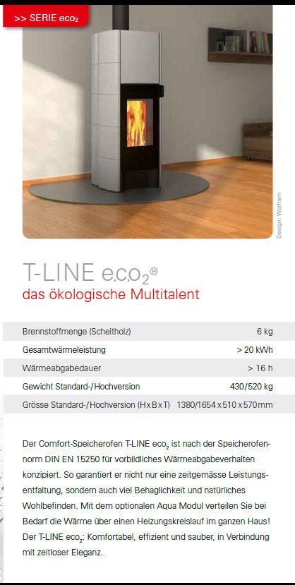 Tonwerk Speicherofen T-Line e.c.o2(R)