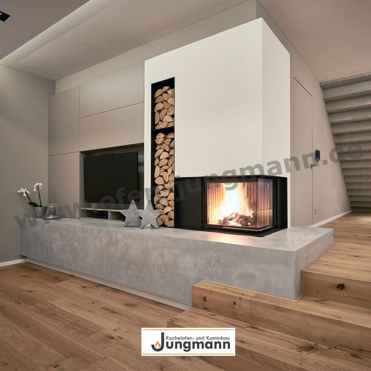 heizkamine f r behagliche w rme in ihrem haus kachelofen jungmann. Black Bedroom Furniture Sets. Home Design Ideas